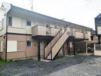 さいたま市 アパート 外壁塗装屋根板金重ね葺きリフォーム事例