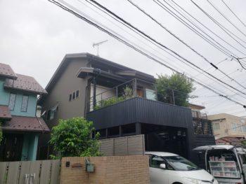 吉川市E様邸外壁塗装屋根カバー工法施工事例