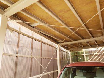 越谷市K様邸鉄骨塗装 給湯器交換施工事例
