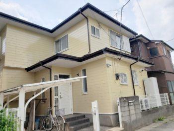 松伏町S様邸外壁塗装施工事例